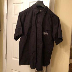 Men's 2XL HD short sleeve, button down shirt
